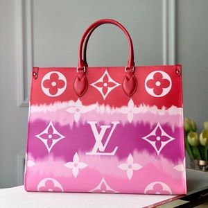 Louis Vuitton onthego escale red